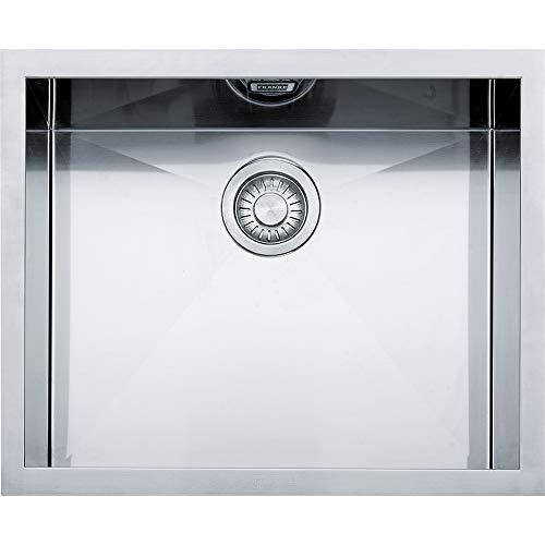Franke Planar Küchenspüle PPX 110-52 Edelstahl Seidenglanz,