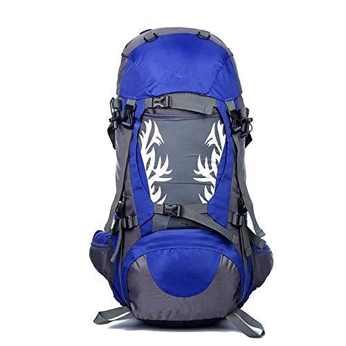 Paquete de agua circulante Montañismo Mochila de gran capacidad al aire libre del alpinismo bolso del ocio que acampa yendo Bolsa 50L del alpinismo profesional Mochila Profesional morral del alpinismo