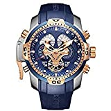 Reef Tiger Military Watches for Men Stainless...