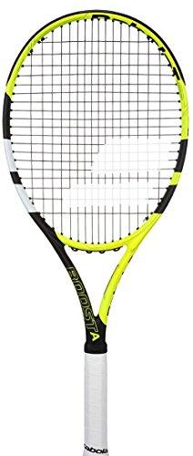 Babolat Boost aero Strung Tennisschläger, Herren 3 Mehrfarbig (Gelb / Schwarz / Weiß)