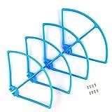 DronePost Anillo de Protección SYMA X8 X8C X8W X8G RC Drone Azul Protector 4 und Recambios Accesorios y repuestos (pr_080|Syma X8|Azul)