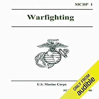 Warfighting audiobook cover art