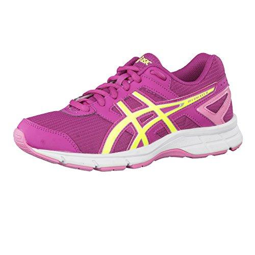 Zapatillas de running para niñas Asics Gel-Galaxy 8Gs, niña, morado, 33