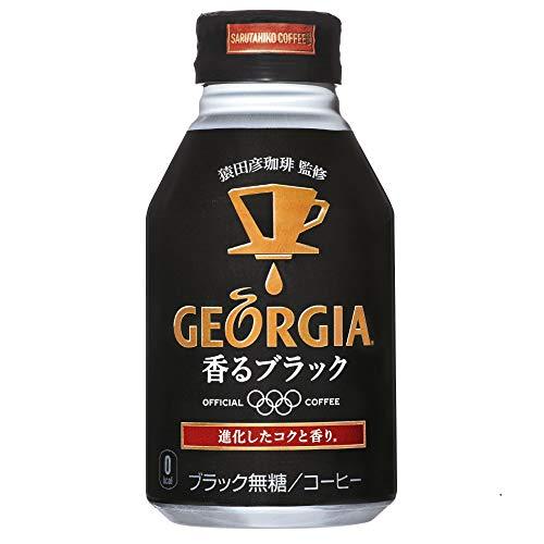 コカ・コーラ ジョージア 香るブラック 260mlボトル缶 ×24本