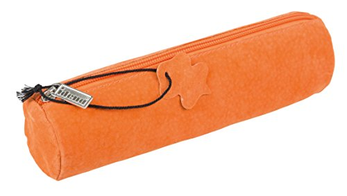 Idena 20028 - Faulenzer Leder, rund, orange