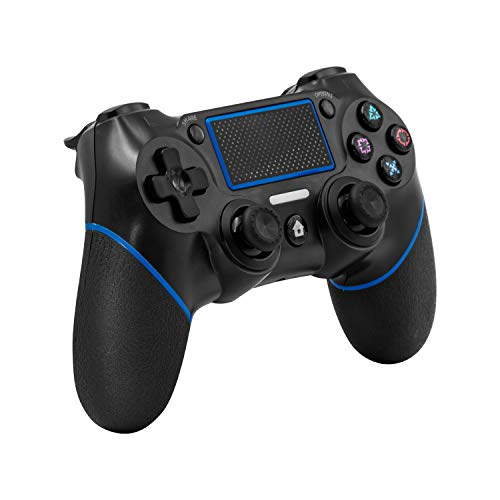 DualShock 4 Controller for PS4 Wireless C200 Gamepad with Touch Panel Joypad with Dual Vibration Game Remote Control Joystick for Ps4/Pro/Slim/PC Laptop