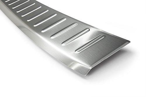 Preisvergleich Produktbild tuning-art 696 Edelstahl Ladekantenschutz mit Abkantung Fahrzeugspezifisch