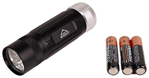 Taschenlampe Led Alu Flaschlight - schwarz, Größe INTERSPORT:NS