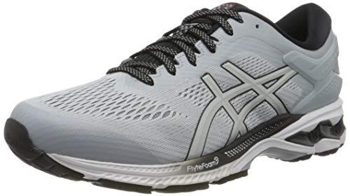 Asics Gel-kayano 26, Men's Running Shoes, Piedmont Gray / Pure Silver, 6 UK (40 EU)