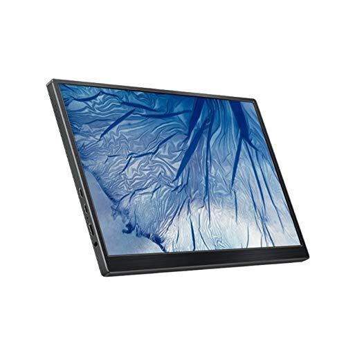 FSAQ Tragbares Display, Tragbare Monitore Von 10,8 Zoll, Ultraleichtgewicht Multifunktionsanzeige, Notebook-Erweiterung Externer Bildschirm Mit Laptop, PC, PS4 Kompatibel (Color : Black)