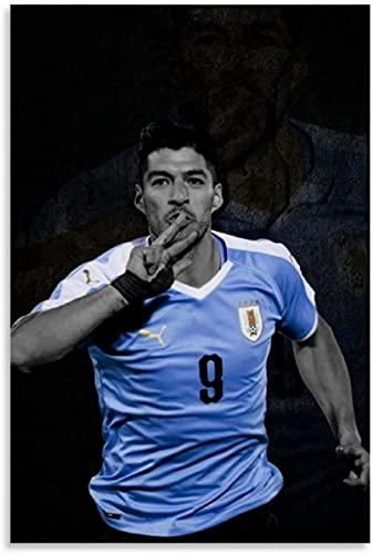 Rompecabezas Adultos Niños Puzzle 1000 Piezas Futbolista Luis Suarez 29.5x19.6inch(75x50cm) Sin Marco