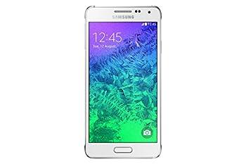 Samsung Galaxy Alpha G850F 32GB Unlocked GSM 4G LTE Octa-Core Smartphone - Dazzling White