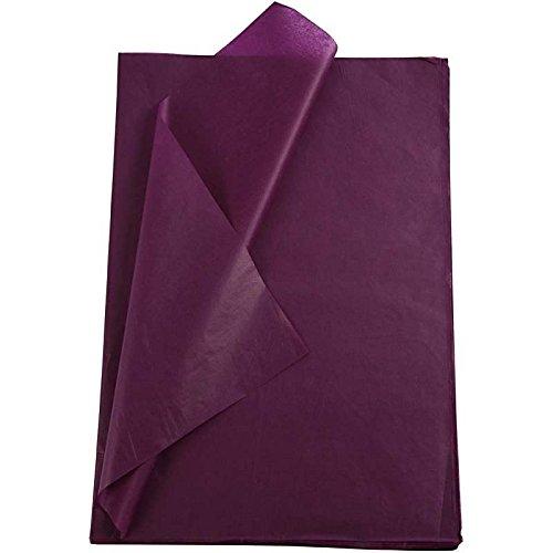 Creavvee Seidenpapier, 28 Blatt, Format 50 x 70 cm, Violett