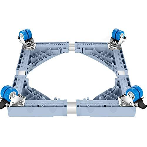 YXF,Meubilair handling base Meubilair mover wasmachine basis automatische drum wiel speciale beugel koelkast pad hoge bewegende voet plank met universeel wiel 4 dubbele rij wiel WoW