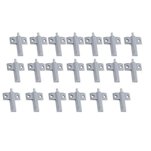 Samfox Buffer, kunststof demper buffer voor ladekast deur stille sluiter 20 stks/set