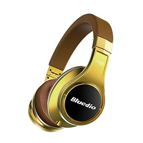 CITEJ HiFi Bluetooth Headset Headset Wireless 3D Surround Headset High-End-Bluetooth-Kopfhörer patentiert 8 Treiber / 3D-Sound/Aluminiumlegierung/HiFi-Over-Ear-Funkkopfhörer,A