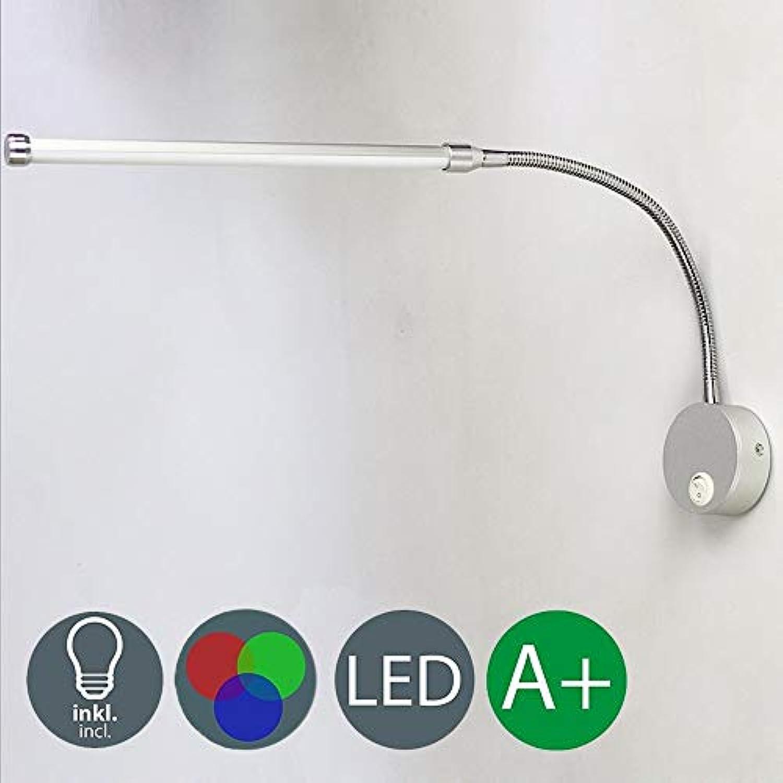 LXBD Moderne LED-Wandleuchte, Persnlichkeits-Rechteck mit Schwenker-Acryl-Wand-Scheinwerfer-Hhen-justierbare Metallwand-Beleuchtung