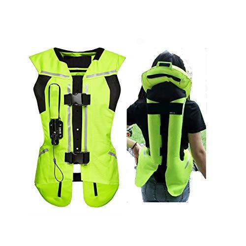 Chaleco Con Airbag Para Montar A Caballo Equipo De Seguridad Para Equitación Con Protector De Espalda Apto Para Motocicletas Y Vehículos Todoterreno (unisex) Equipo de ciclismo