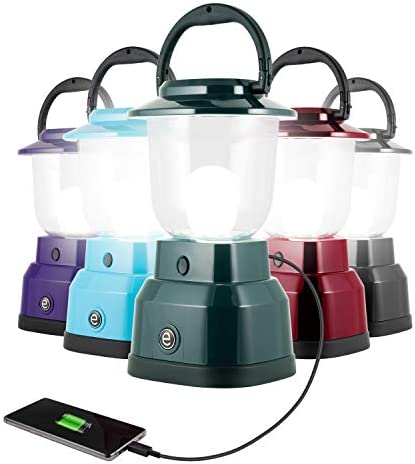 Enbrighten LED Camping Lantern Battery Powered USB Charging 800 Lumens 200 Hour Runtime Carabiner product image