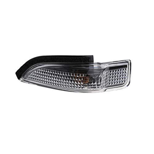 Vehículo Coche 2pin Indicador de espejo de izquierda/derecha Gire la bombilla de la lámpara de la luz de la señal para el estilo del automóvil Indicadoras De Giro (Emitting Color : 1)