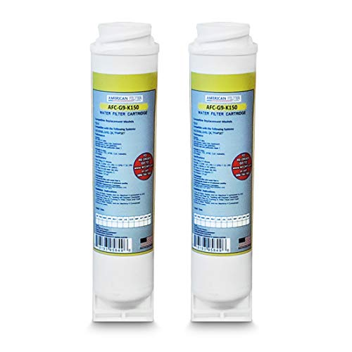 American Filter Company 2-Pack (TM) Brand Water Filters (Comparable with GE (R) FQK1K Filter) Made in The USA!!