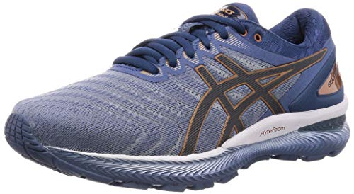 Asics Herren Gel-Nimbus 22 Running Shoe, Sheet Rock/Graphite Grey, 46 EU
