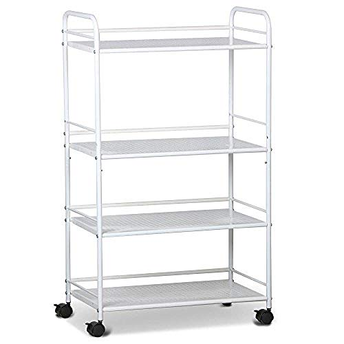 Three-Layer Handrail Pull Cart Three Sizes Abs Assembly Beauty Salon Spa Equipment Car Medical Rolling Trolley Four Colors Available