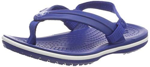 Crocs Crocband Strap Flip, Chanclas Unisex Niños, Azul (Blue Jean 4gx), 22/23...