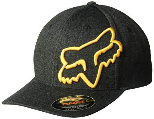 Fox Herren Clouded Flexfit HAT Baseball Cap, schwarz, X-Large