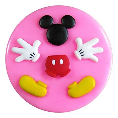 Fairie Blessings - Molde de silicona para decoración de pasteles, magdalenas, utensilios de azúcar, diseño de Mickey Mouse