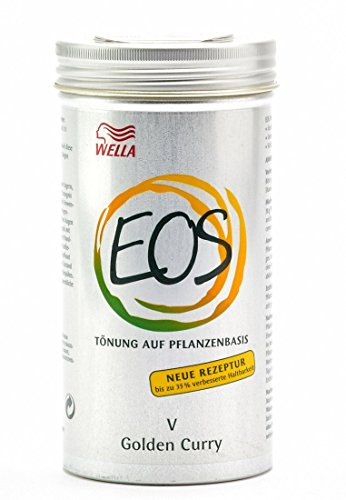 Wella EOS V Golden Curry Pflanzentönung, 1er Pack (1 x 120 g)