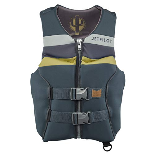 Jet Pilot Shaun Murry Neoprene CGA Vest-XL-Gold Adult Water Life Jacket Vest for Extreme Sports Boat Kayak Paddling Use and Safety Sports Vests for Men and Women