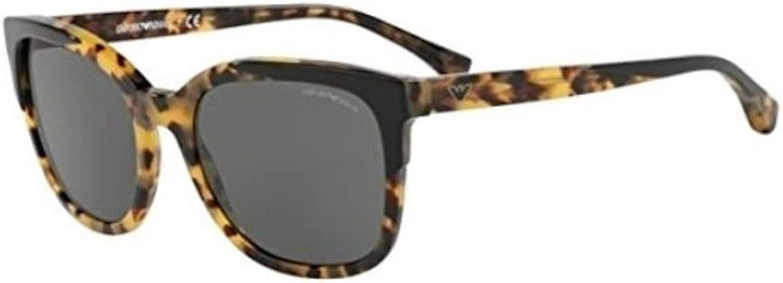 Emporio Armani EA 4119 BLACK BLONDE HAVANA GREY women Sunglasses