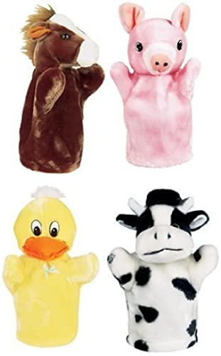 FARM PUPPET SET I INCLUDES DUCK PIG by MotivationUSA