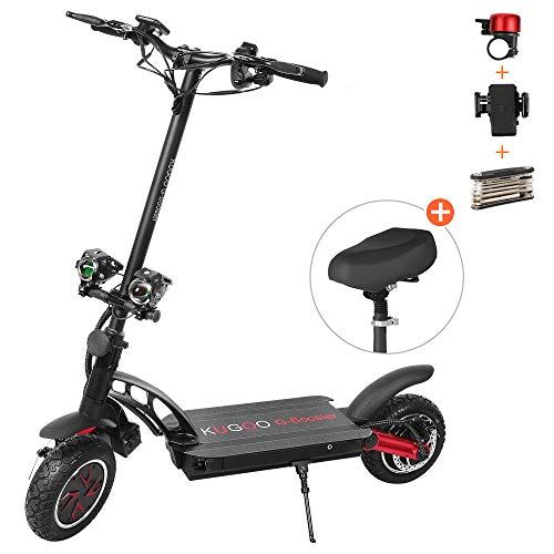 Elektroroller, Elektroroller, Kugoo G-Booster für Erwachsene und Kinder, Höchstgeschwindigkeit 55 km/h, Motorleistung 2 * 800 W, Reichweite 85 km