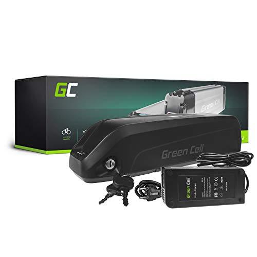 GC® E-Bike Akku 36V 17Ah Li-Ion Markenzellen Pedelec Down Tube Batterie mit Ladegerät für Cyco Frisbee Bikes Kreidler MiFa Prophete Rex Trio Zündapp