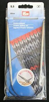 Inox / Prym Express Circular Knitting Needle 24 inch Size 9  5.5mm