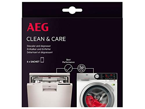 AEG 9029798049 Clean & Care Reinigungsset Waschmaschine und Geschirrspüler