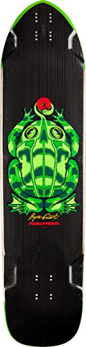 Powell Peralta Byron essert (Carbon Frosch schwarz Skateboard Deck