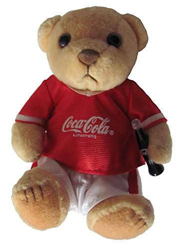 Coca-Cola - Bär mit Trikot - 12 cm