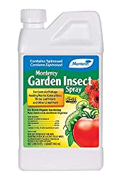 Monterey LG6135 Garden Insect Spray, Insecticide & Pesticide with Spinosad Concentrate