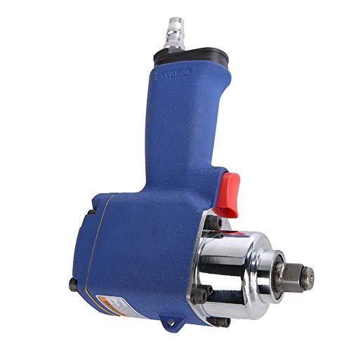 Oumefar Potente atornillador de impacto industrial neumático, llave ranurada de alta velocidad para