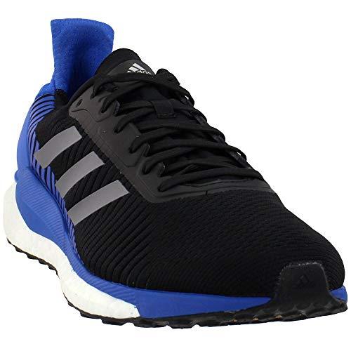 adidas Solar Glide ST 19 Shoe - Men's Running Core Black/Grey/Blue