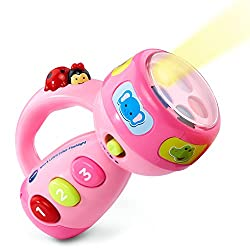 Pink VTech Spin and Learn Color Flashlight