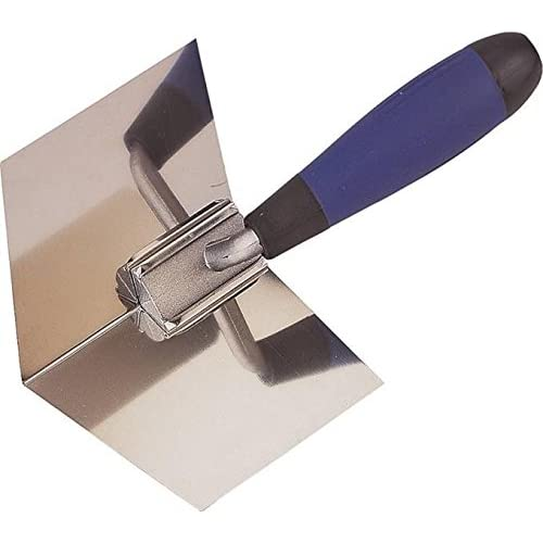 Edward Tools Drywall Corner Tool - Flexes for perfect 90 degree corner when mudding drywall -