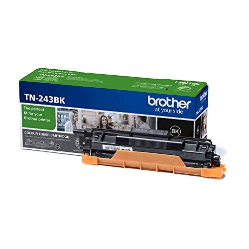 Brother TN243BK - Cartucho de tóner negro original, para las impresoras HLL3210CW, HLL3230CW, HLL3270CW, DCPL3510CW, DCPL3550CW, MFCL3710CW, MFCL3750CW, MFCL3770CDW