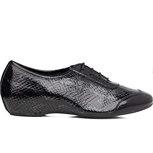 CALLAGHAN - Zapatos Vestir - Cuero para: Mujer Color: Viperina Gris/Rock Pizarra/Viperina Gris Talla: 40
