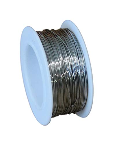 Wire Wrapping 50 Feet Coil Stainless Steel 316L Wire 20 Ga // 0.80 MM SOFT