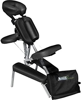 Custom Craftworks Solutions Melody Portable Massage Chair - Black
