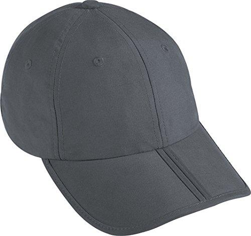 Myrtle Beach pack-a-cap Baseballkappe, Grau One size